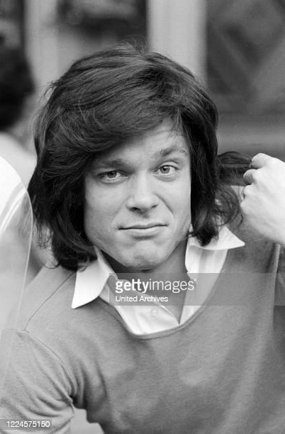 Juergen Drews, German schlager singer, Germany circa 1981.