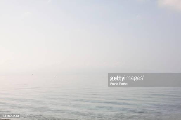 nice looking ocean with a quite atmosphere