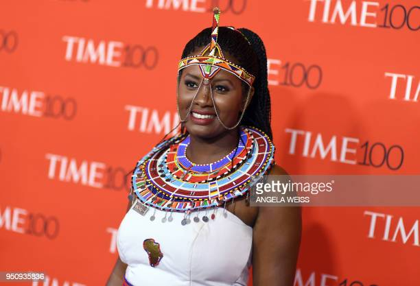 TOPSHOT Nice Nailantei Leng'ete attends the TIME 100 Gala celebrating its annual list of the 100 Most Influential People In The World at Frederick P...