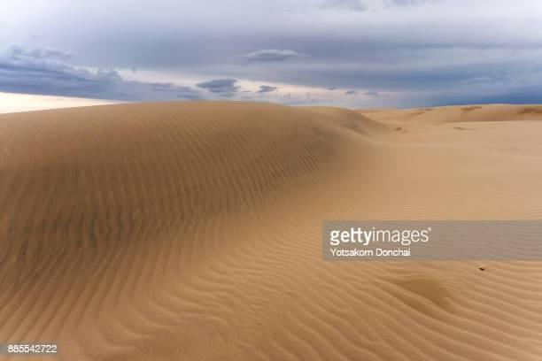 Nice pattern of sand in Anna Bay Sand Dunes, Australia