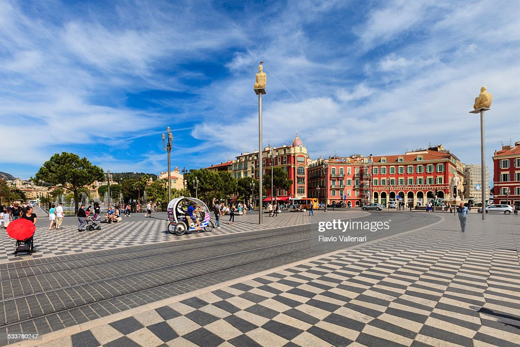 Place Massena a Nizza, Francia : Foto stock