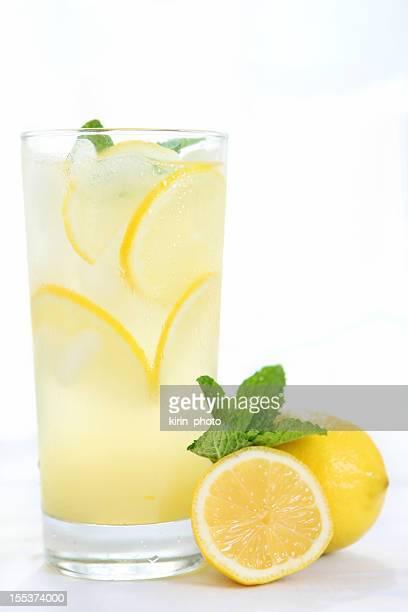 Nice refreshing glass of lemonade
