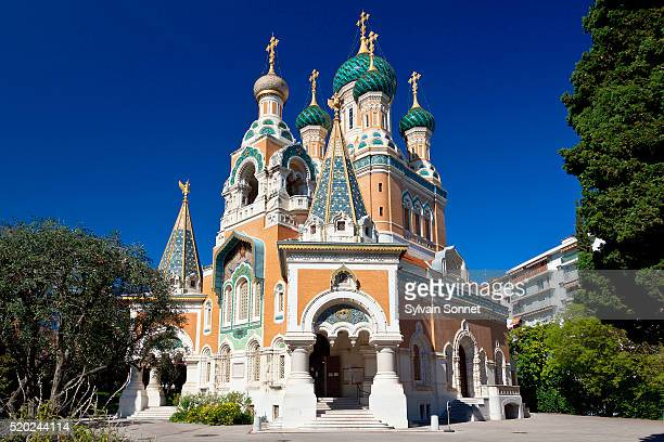 Nice, Russian Orthodox Cathedral of St Nicolas and St Alexandra