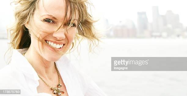 ニースの笑顔