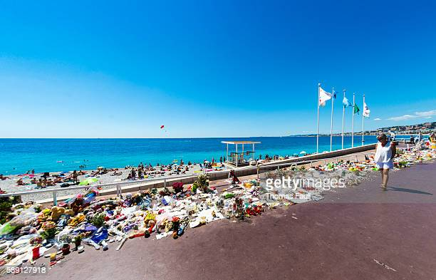 Nice Terrorist Attack Memorial Seafront