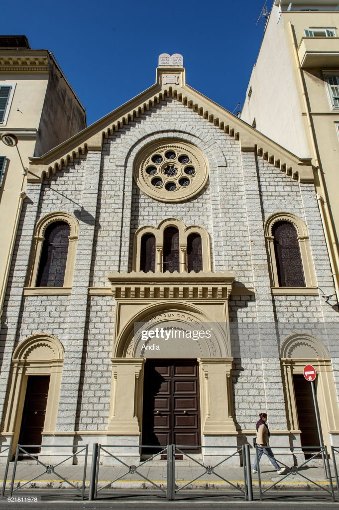 The Great Synagogue. : News Photo