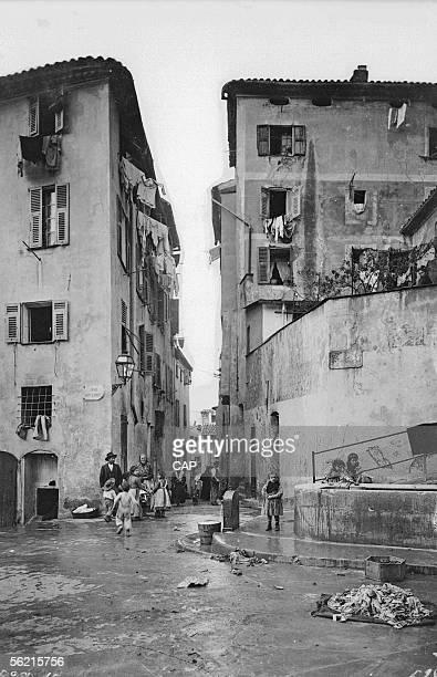 Nice The Vieux Nice street
