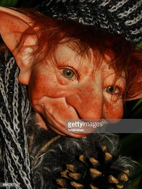 nice troll - goblin stock photos and pictures