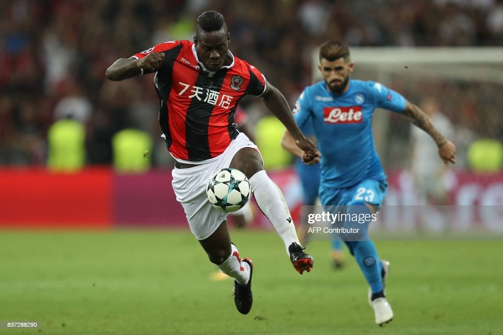 FBL-EUR-C1-NICE-NAPOLI : News Photo