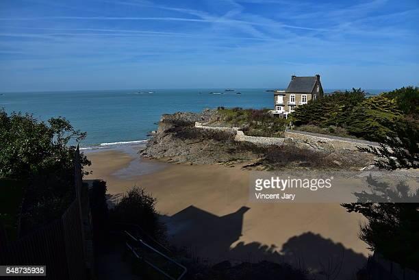 Nicet beach on Saint Malo coastline