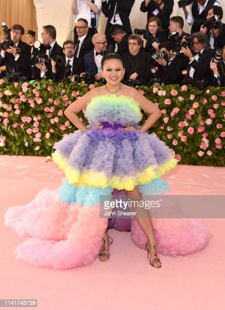 Nichapat Suphap arrives at the 2019 Met Gala Celebrating Camp Notes On Fashion at The Metropolitan Museum of Art on May 6 2019 in New York City