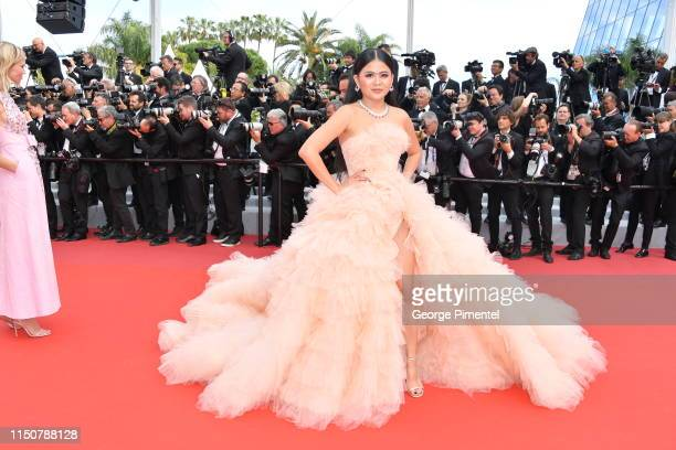 """Nichapat Suphap attends the screening of """"Once Upon A Time In Hollywood"""" during the 72nd annual Cannes Film Festival on May 21, 2019 in Cannes,..."""