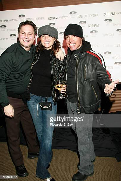 Niche Media CEO Jason Binn Aimee Oates and musician John Oates attend the Aspen Peak New Year's Party hosted by Don and Kelly Johnson and Jason and...