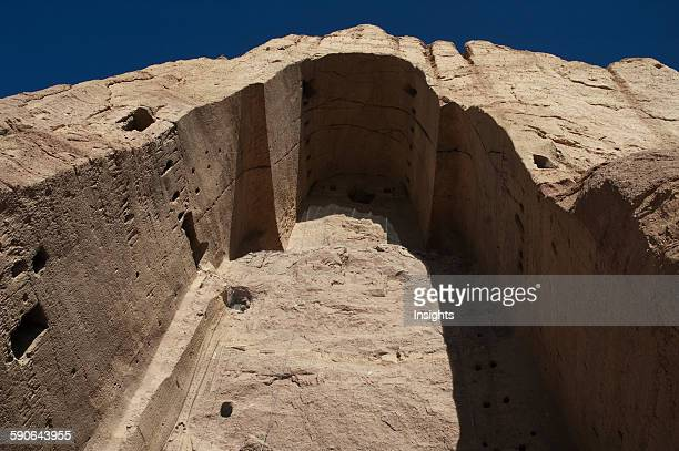 Niche Of The Large Buddha In Bamiyan Bamian Province Afghanistan