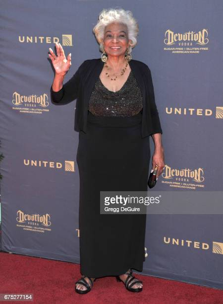 Nichelle Nichols arrives at the 44th Annual Daytime Emmy Awards at Pasadena Civic Auditorium on April 30 2017 in Pasadena California