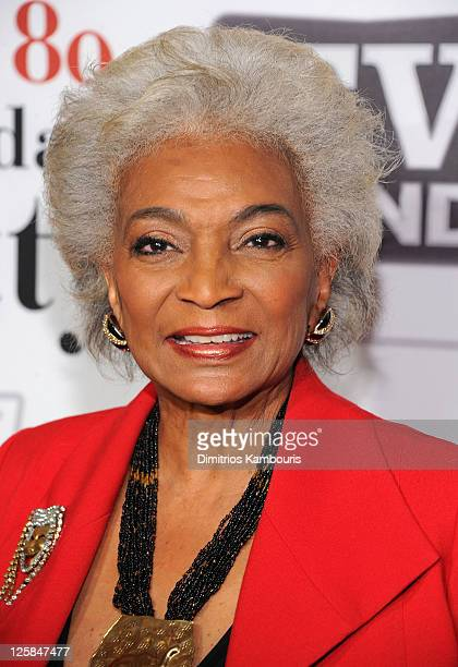 Nichelle Nichols attends Betty White's 89th birthday party at Le Cirque on January 18 2011 in New York City