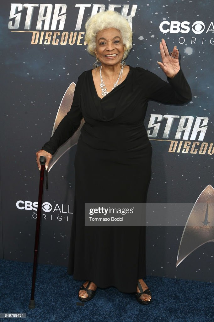 Nichelle Nichols attends the premiere of CBS's 'Star Trek: Discovery' at The Cinerama Dome on September 19, 2017 in Los Angeles, California.