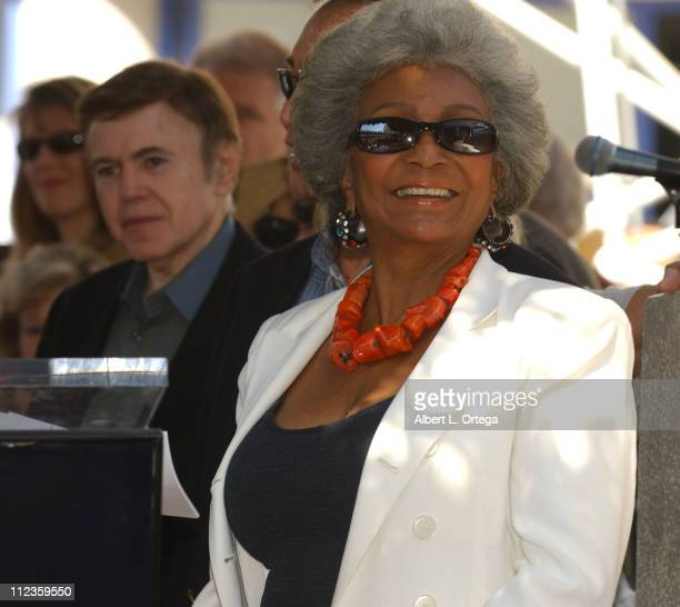 Nichelle Nichols during James Doohan Honored With A Star On The Hollywood Walk Of Fame for His Achievements in Television at 7021 Hollywood Blvd in...