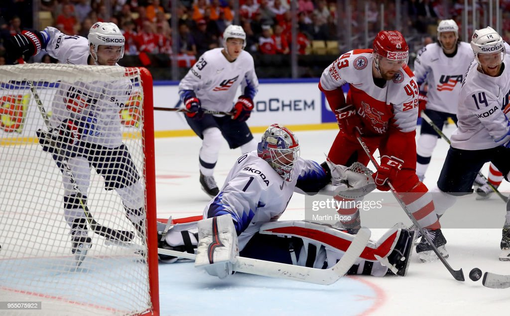Denmark v United States - 2018 IIHF Ice Hockey World Championship