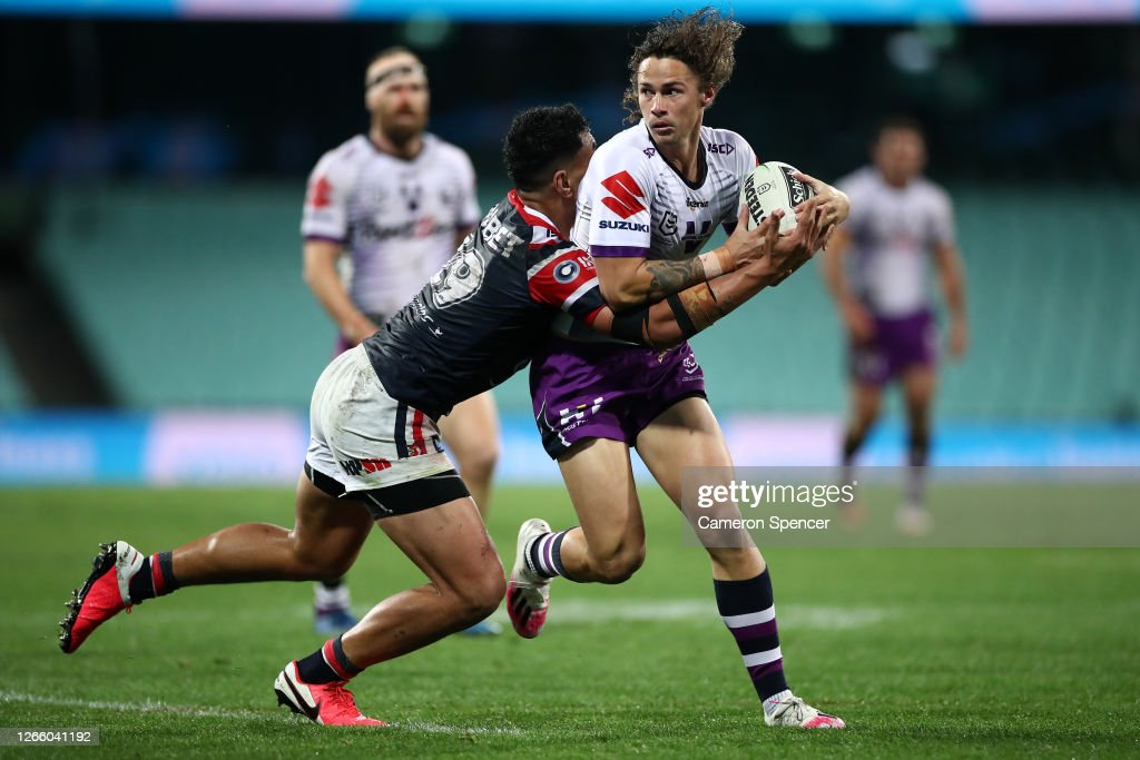 NRL Rd 14 - Roosters v Storm : News Photo