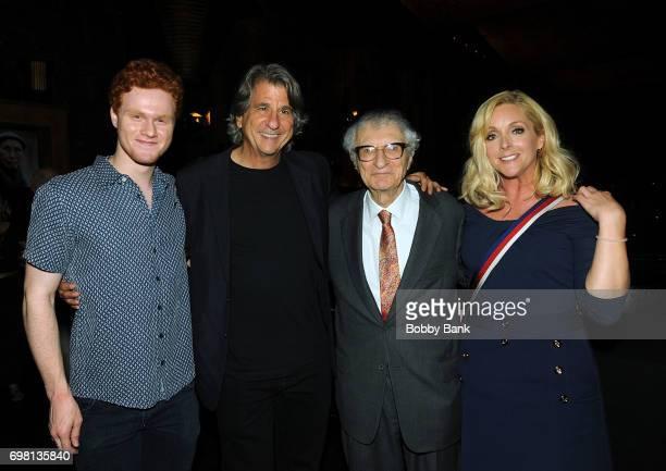 Nicholas Barasch David Rockwell Jane Krakowski and Sheldon Harnick attend the KOI Book Launch at TAO Uptown on June 19 2017 in New York City