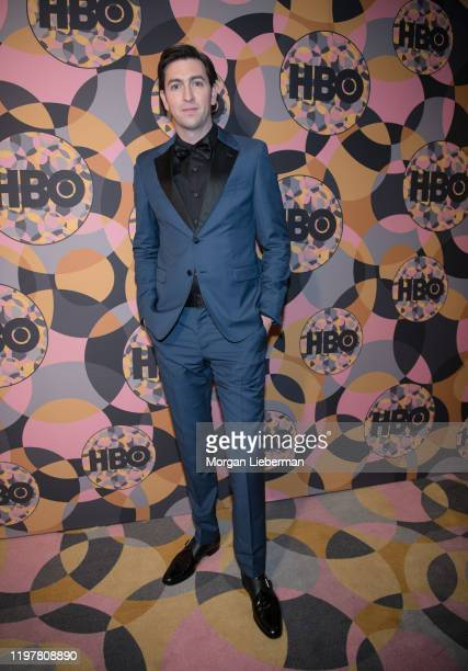 Nicholas Braun arrives at HBO's Official Golden Globes After Party at Circa 55 Restaurant on January 05 2020 in Los Angeles California