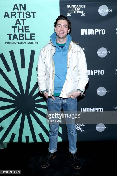 Nicholas Braun attends Sundance Institute's 'An Artist at the Table Presented by IMDbPro' at the 2020 Sundance Film Festival on January 23 2020 in...