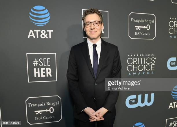 Nicholas Britell attends the 24th annual Critics' Choice Awards at Barker Hangar on January 13 2019 in Santa Monica California