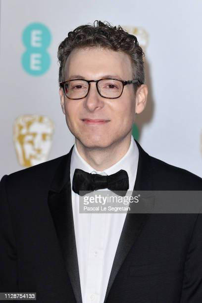 Nicholas Britell attends the EE British Academy Film Awards at Royal Albert Hall on February 10 2019 in London England