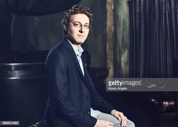 Nicholas Britell is photographed for The Hollywood Reporter on October 9 2016 in Los Angeles California
