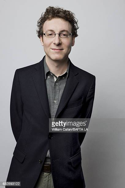 Nicholas Britell poses for a portraits at the BAFTA Tea Party at Four Seasons Hotel Los Angeles at Beverly Hills on January 7 2017 in Los Angeles...