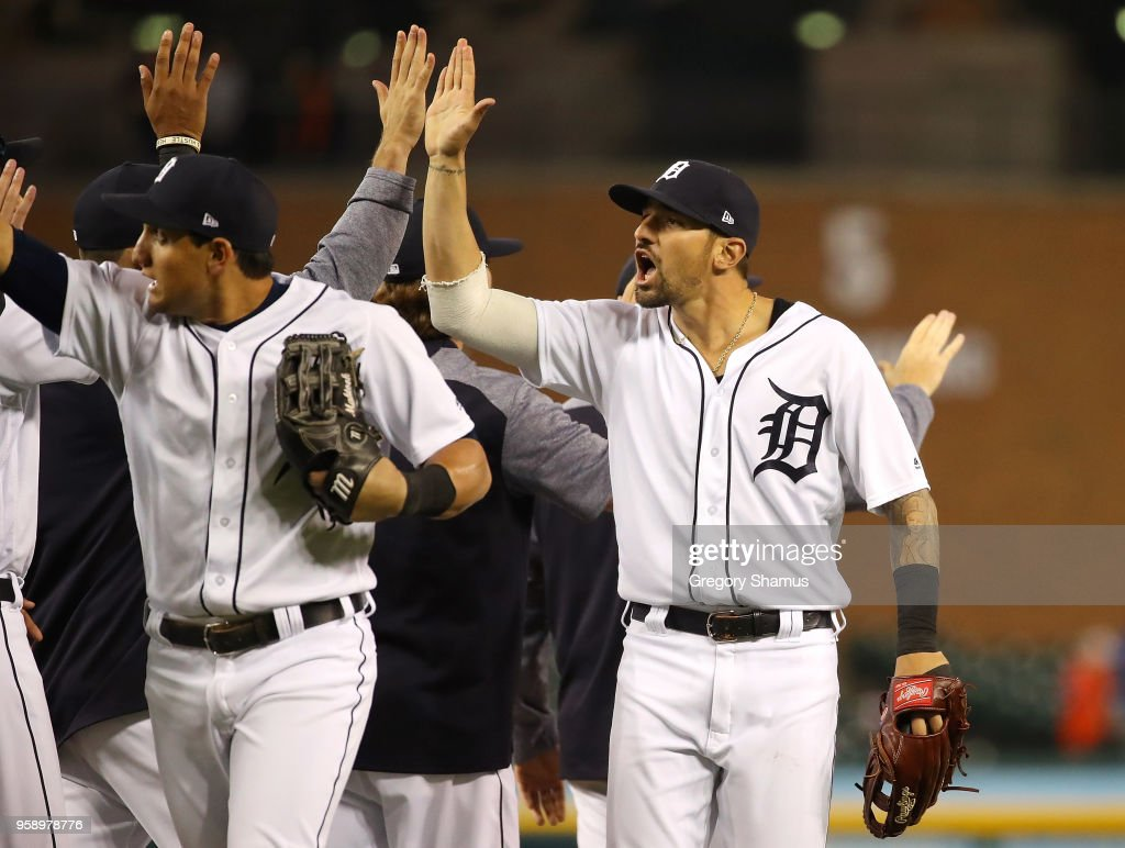 Cleveand Indians v Detroit Tigers : News Photo
