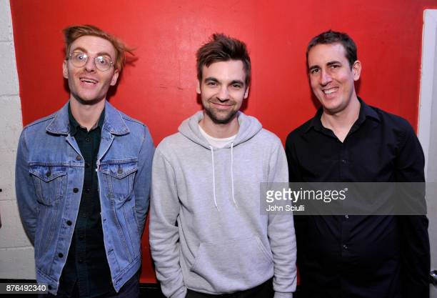 Nicholas Ciarelli Drew Tarver and Brad Evans attend Comedians You Should Will Know hosted By Pete Holmes and the cast of HBO's Crashing during...