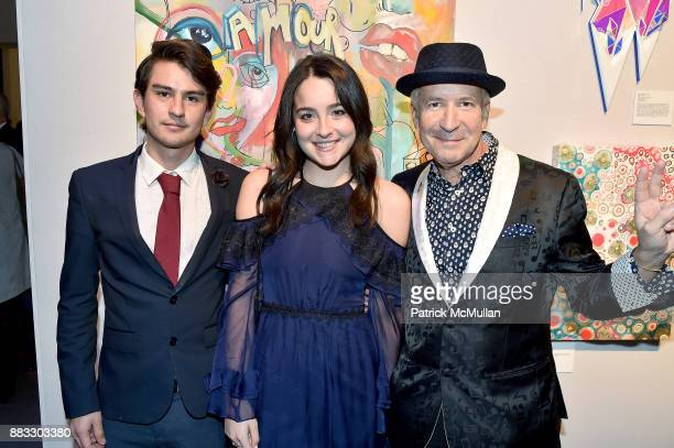 Nicholas Cifuentes Julia Hayt and Larry Dvoskin attend the 2017 ARTWALK NY Benefiting Coalition for the Homeless at Spring Studios on November 29...