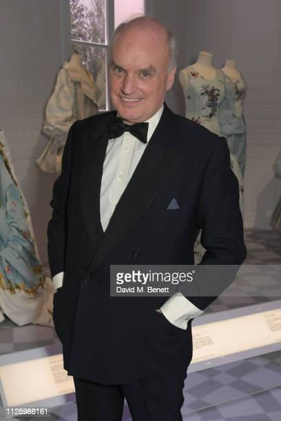 """Nicholas Coleridge attends a gala dinner celebrating the opening of the """"Christian Dior: Designer of Dreams"""" exhibition at The V&A on January 29,..."""