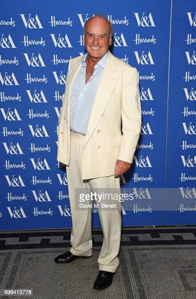 Nicholas Coleridge attends the 2017 annual V&A Summer Party in partnership with Harrods at the Victoria and Albert Museum on June 21, 2017 in London,...