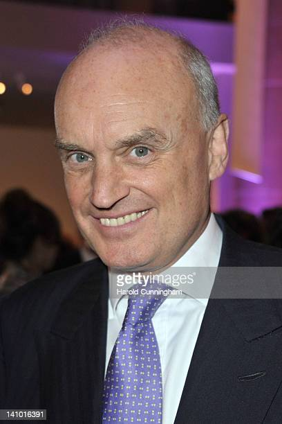 Nicholas Coleridge, Conde Nast International President, attends the GQ cocktail reception celebrating Baselworld 2012 at the Barfusserkirche...
