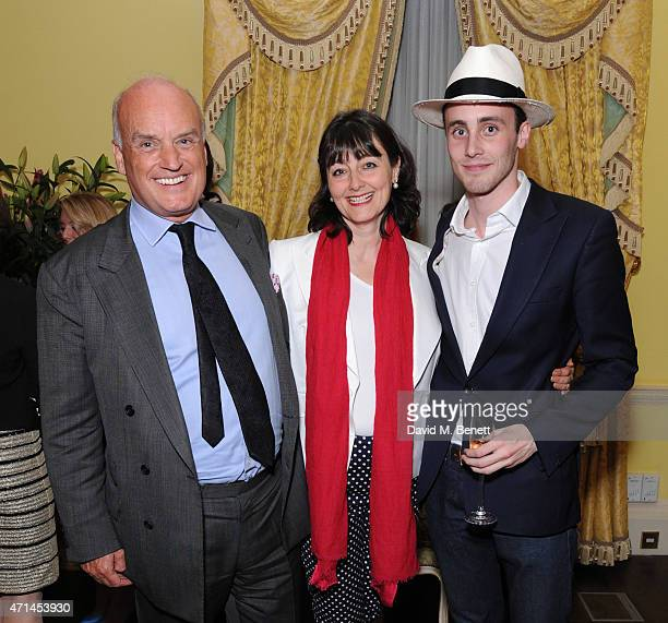 Nicholas Coleridge ; Georgia Coleridge; Aexanda Coleridge attend the Tatler Best Of British party at The Ritz on April 28, 2015 in London, England.