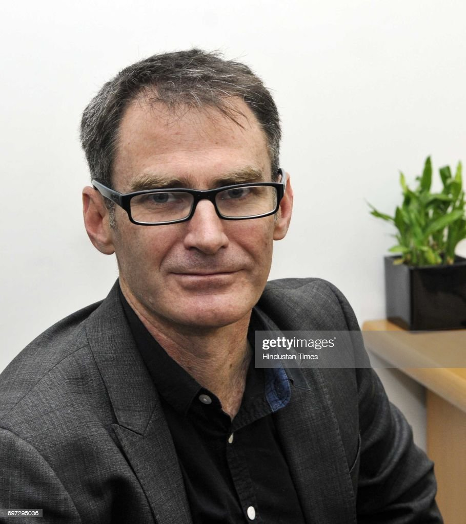 Nicholas Dawes, Chief Content Officer, HT Media Ltd., on January 21, 2015 in New Delhi, India.