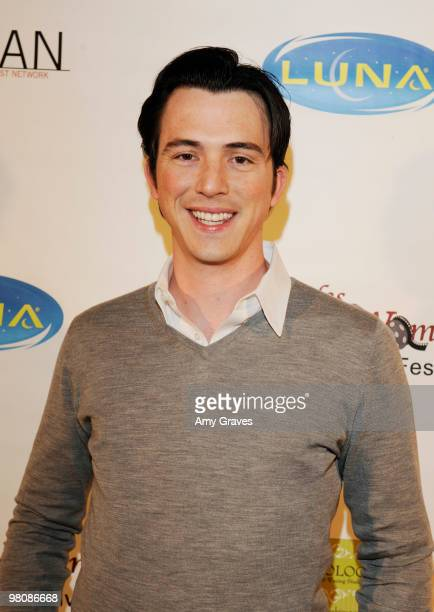 Nicholas Downs attends the Los Angeles Women's International Film Festival Opening Night Gala at Libertine on March 26 2010 in Los Angeles California