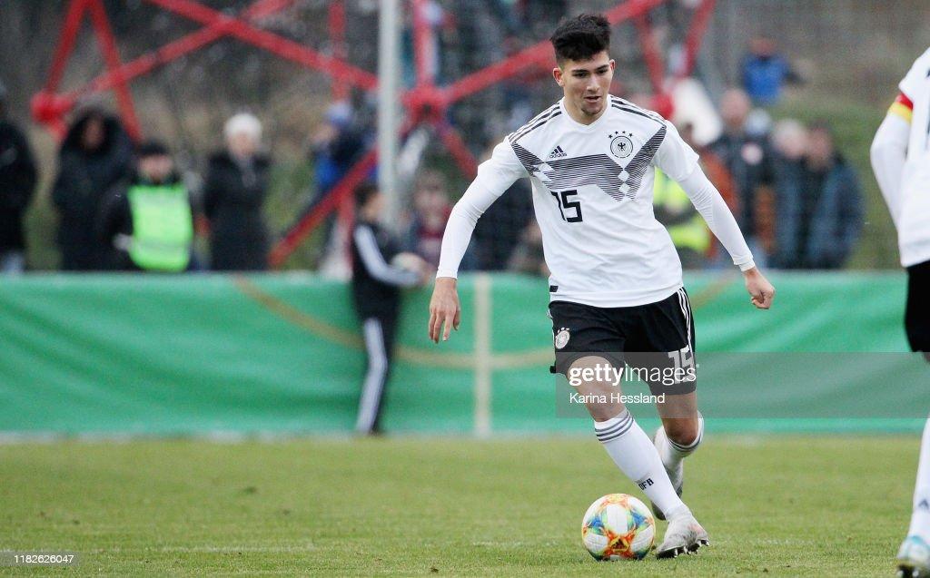 U16 Germany v U16 Czech Republic - International Friendly : Nachrichtenfoto