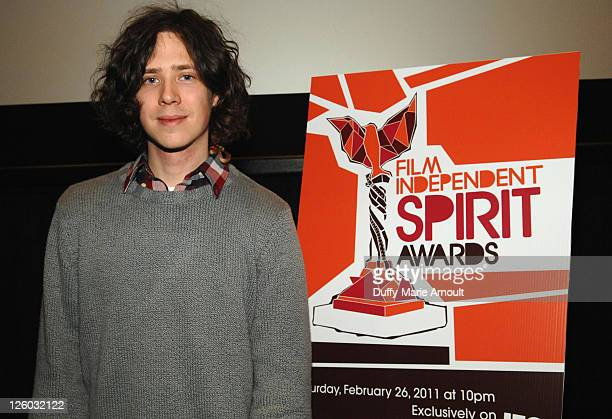 Nicholas Fackler attends the 2011 Film Independent Spirit Awards Screening for Lovely Still at Regal 14 at LA Live Downtown on January 19 2011 in Los...