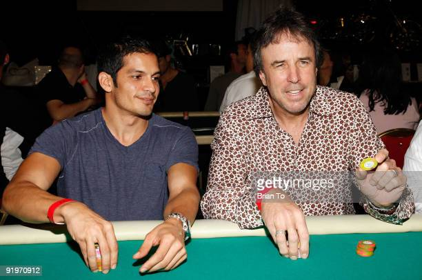 Nicholas Gonzales and Kevin Nealon attend Children's Institute Hosts Poker For A Cause Celebrity Poker Tournament at Commerce Casino on October 17...