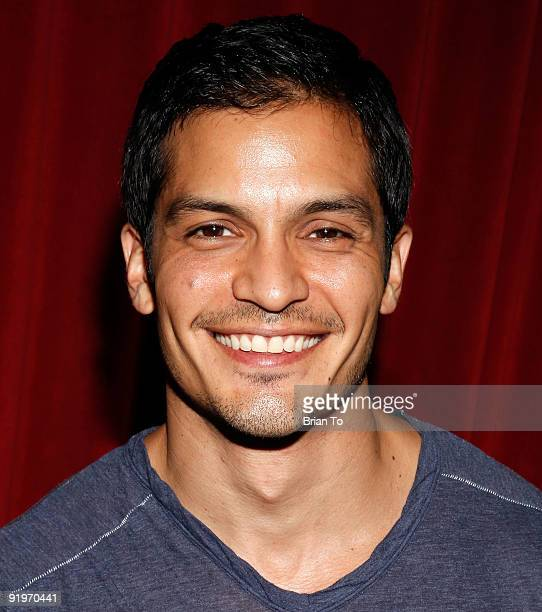 Nicholas Gonzales attends Children's Institute Hosts Poker For A Cause Celebrity Poker Tournament at Commerce Casino on October 17 2009 in City of...