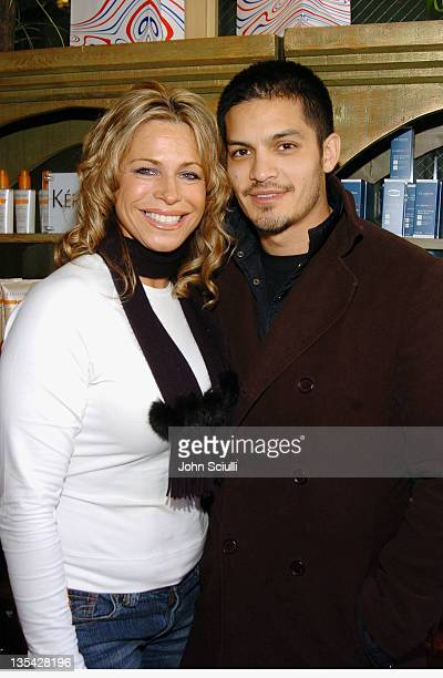 Nicholas Gonzalez and guest at Fred Segal during 2005 Park City Fred Segal Boutique at Village at the Lift at Village at the Lift in Park City Utah...