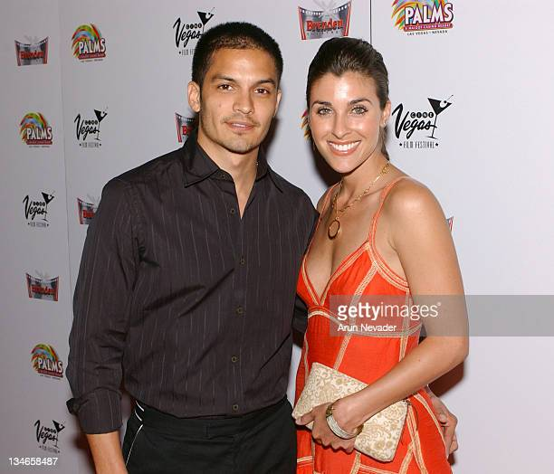 Nicholas Gonzalez and guest during CineVegas Film Festival 2005 'Standing Still' Premiere at Brenden Theatres in Las Vegas Nevada United States