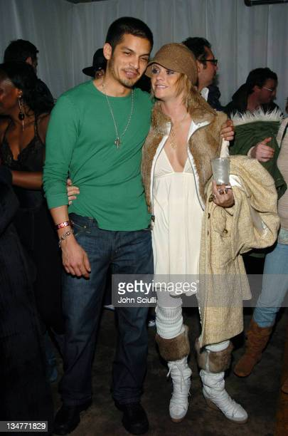Nicholas Gonzalez and Taryn Manning during 2005 Park City Motorola Late Night Lounge Sponsored by Motorola and Splinter Cell Chaos Theory at Motorola...