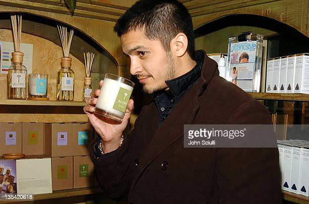 Nicholas Gonzalez at Fred Segal during 2005 Park City Fred Segal Boutique at Village at the Lift at Village at the Lift in Park City Utah United...