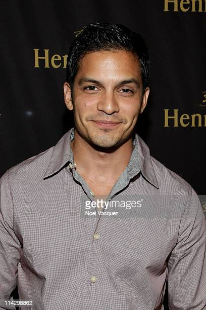 Nicholas Gonzalez attends the Hennessy Latino Artistry Los Angeles party at loftSEVEN on July 30 2009 in Los Angeles California