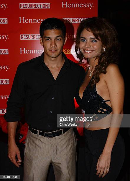 Nicholas Gonzalez Brenda Mejia during Resurrection Blvd Celebrates its 3rd Season Hosted by Hennessy Cognac with a $10000 Donation to AIDS Charity...